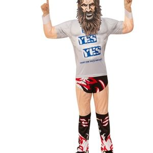 WWE Daniel Bryan Boys Halloween Costume NEW